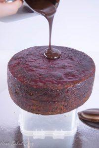 Cover it in delicious chocolate ganache