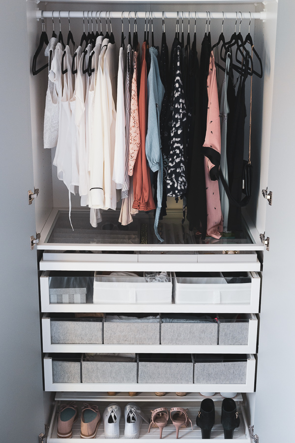 Overview of the closet