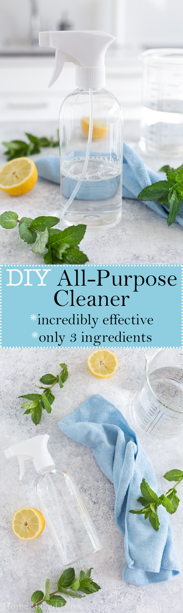 This diy all-purpose cleaner removes even the toughest water stains, dirt and grim! Get the 3 ingredient recipe.