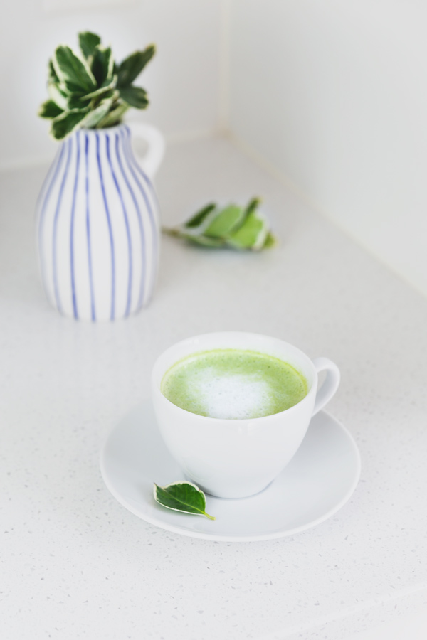 Matcha latte recipe for early mornings